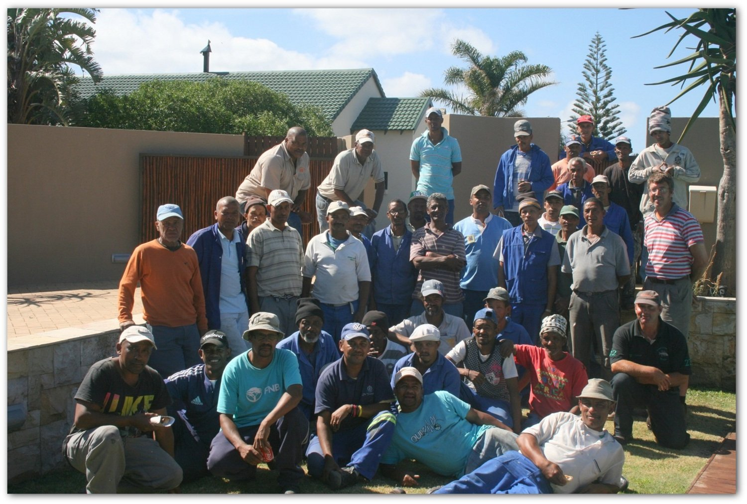 DJ van Tonder Builders The Team